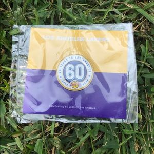 LA Lakers Commemorative Lapel Pin